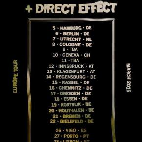 Presents: Swain Announce European Tour with Direct Effect