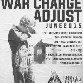 War Charge Announce European Tour withAdjust