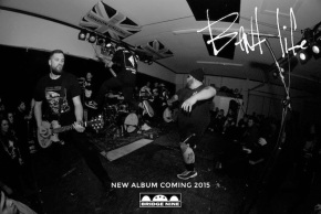 Bent Life Sign with Bridge Nine Records