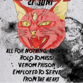 Presents: Smashfest Adds Anchor, Venom Prison and All For Nothing to Line-Up