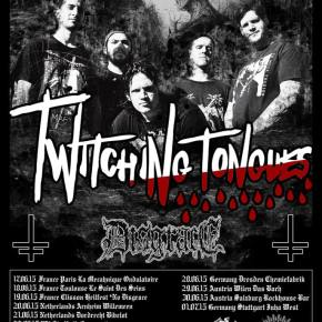 Twitching Tongues Announce European Tour with Disgrace and Sign with Metal Blade Records