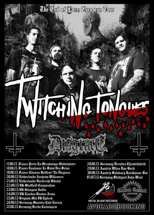 Twitching Tongues Disgrace Tour