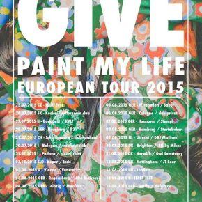 GIVE Announce European SummerTour