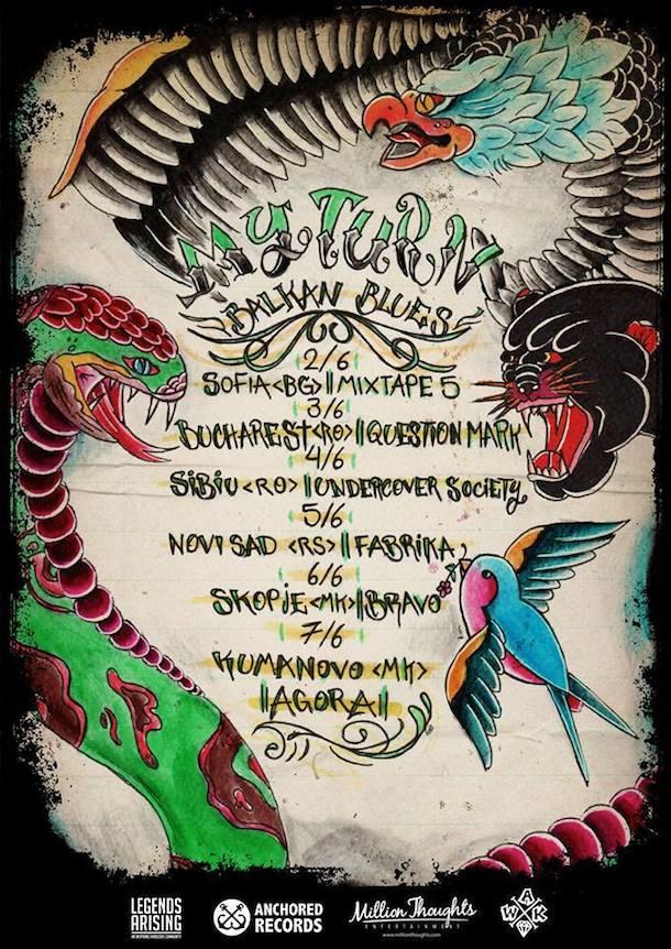 My Turn - Balkan Tour 2015