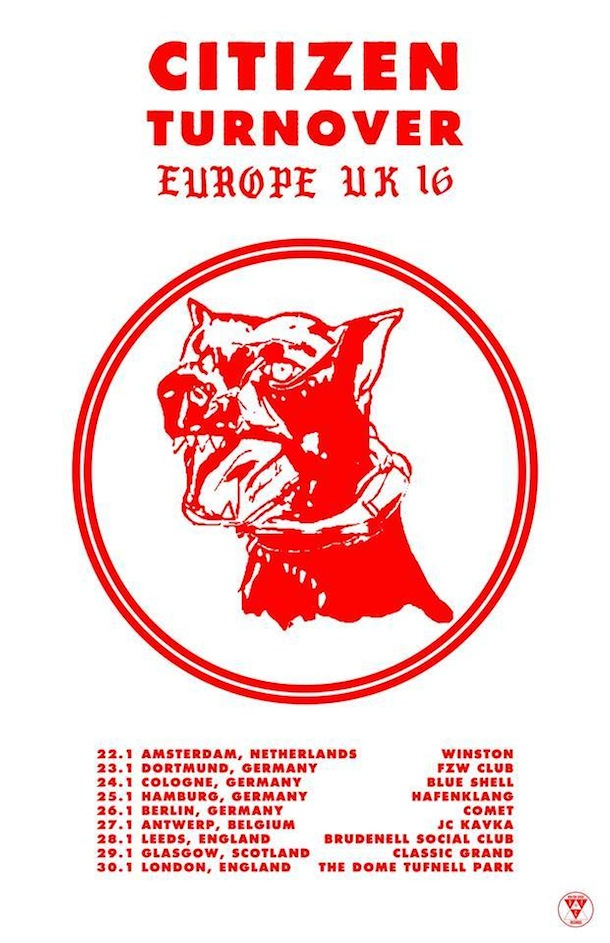 Citizen European Tour Poster