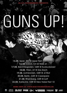 Guns Up - Gone To Waste European Summer Tour 2015