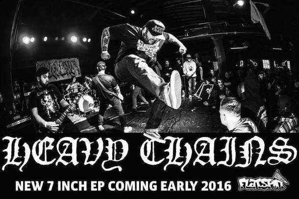 Heavy Chains Flatspot Records Promo Shot