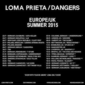 Loma Prieta and Dangers Kick Off European TourToday