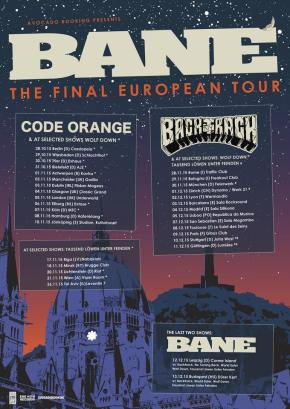 Bane Announce Final European Tour