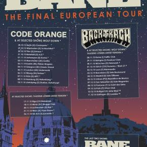 Bane Announce Final EuropeanTour