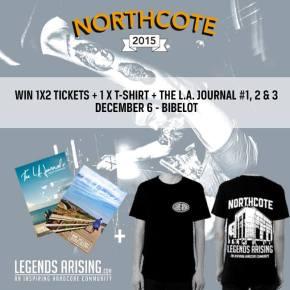 WIN: Prize Package for Northcote @ Bibelot, Dordrecht(NL)