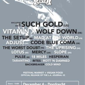 Presents: Northcote Finalizes Line-Up with Vitamin X, The Setup and 6 More Bands