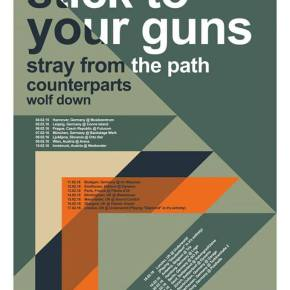Stick To Your Guns Announce European Tour with Stray From The Path, Counterparts & Wolf Down