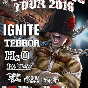 EMP Persistence Tour Kicks Off Today with Ignite, Terror, H20, Iron Reagan, Twitching Tongues, Wisdom In Chains and Risk It