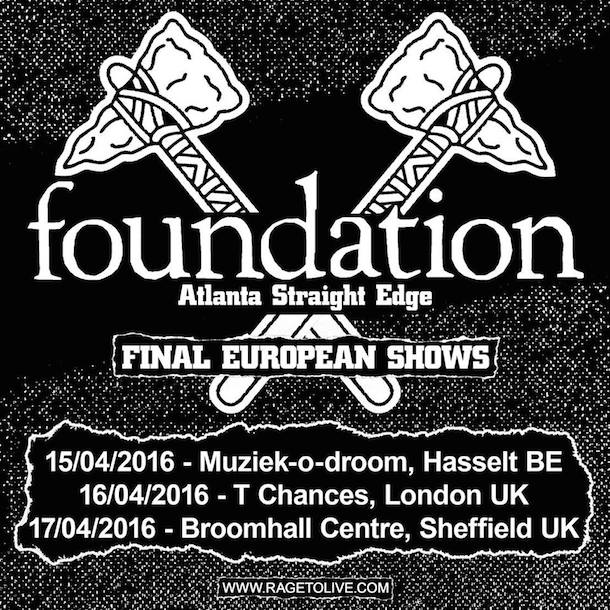 Foundation - Final European Tour