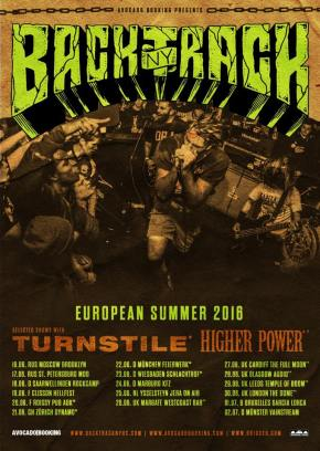 Backtrack Announce European Tour with Turnstile and Higher Power