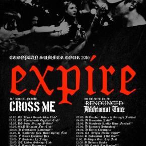 Expire Announce European Tour with CrossMe