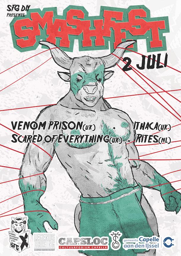 Smashfest 2016 - Poster 1