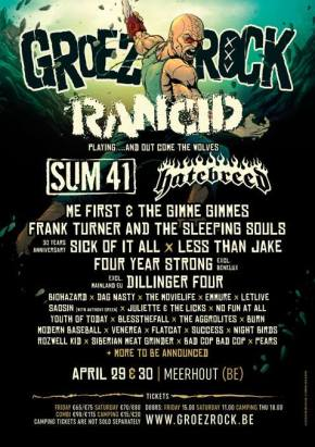 Groezrock Announces First Names: Rancid, Biohazard, Burn, letlive. and more