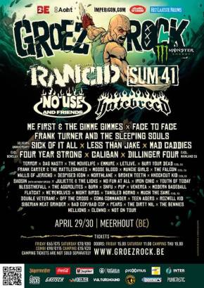 Groezrock Finalizes 2016 Line-Up