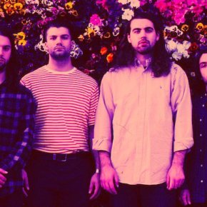 Turnover release black and white video for 'Humming'